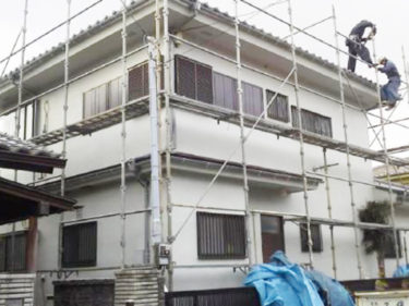 藤沢市 H様邸 外部塗装、修繕リフォーム事例