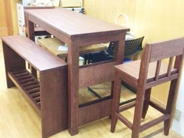 藤沢市 K様邸 家具製作・手摺り設置リフォーム事例