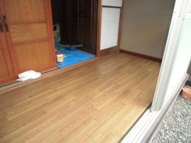 藤沢市 S様邸 縁側の床補修事例